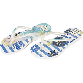 havaianas Slim Frozen Flips Kids White/Royal